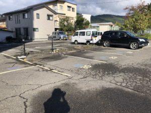 権堂 美容室 駐車場